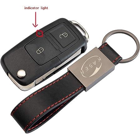 Schlüssel Gehäuse Fernbedienung Für Vw 2 Tasten Elektronik