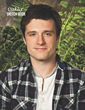 Sketch Book: Josh Hutcherson Sketchbook 129 pages, Sketching, Drawing and Creative Doodling Notebook to Draw and Journal 8.5 x 11 in large (21.59 x 27.94 cm)