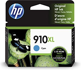 HP 910XL | Ink Cartridge | Cyan | Works with HP OfficeJet 8000 Series | 3YL62AN