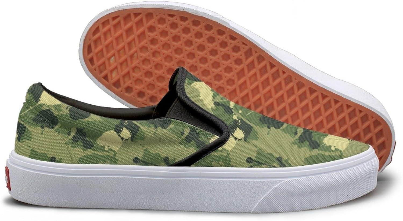 SEERTED Rustoleum Camouflage School Sneakers for Girls
