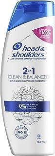 Head & Shoulders Clean & Balanced 2 in 1 Anti Dandruff Shampoo and Conditioner, 350ml