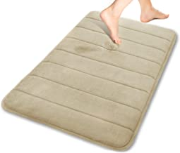 Yimobra Memory Foam Bath Mat Rug, Comfortable, Soft, Super Water Absorption, Machine Wash, Non-Slip, Thick, Easier to Dry ...