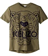 Kenzo Kids - Short Sleeve Tiger T-Shirt (Big Kids)