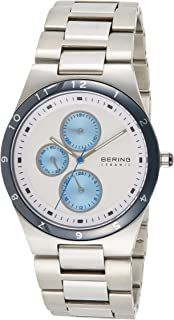 BERING Mens Analogue Quartz Watch with Stainless Steel Strap 32339-707