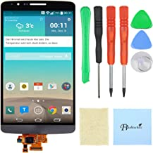 LCD Touch Screen Digitizer Replacement Assembly Compatible with LG G3 D850 D851 D855 VS985 LS990 + Free Tools