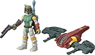 Star Wars Mission Fleet Gear Class Boba Fett Capture in The Clouds 2.5-Inch-Scale Figure and Vehicle, Toys for Kids Ages 4...