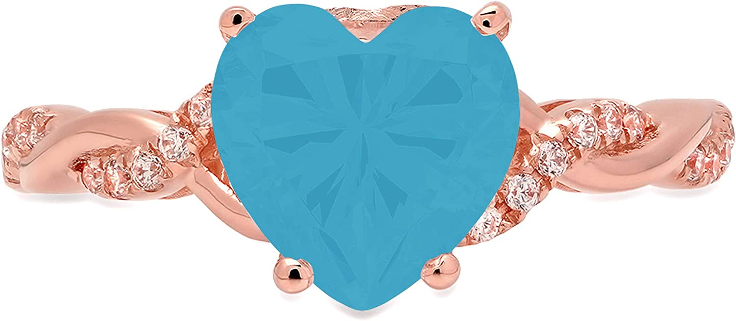 2.13ct Heart Cut Criss Cross Ide Solitaire Our shop OFFers the best service Twisted Flawless Direct store Halo