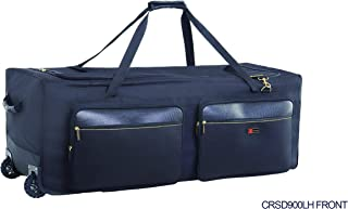 Crossrock Deluxe Drum Hardware Bag with wheels 48-inch (CRSD90LH)