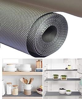 RUTUZ Multipurpose 45cm X 5m Anti-Slip Plastic Sheets for Kitchen Cabinets, EVA Shelf Liners for Kitchen Shelves, Drawers,...