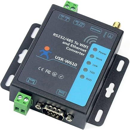 USR-W610 Convertitore wireless seriale a WiFi Ethernet RS232 Supporto per server seriale RS485 WatchDog Gateway Modbus TCP UDP - Confronta prezzi