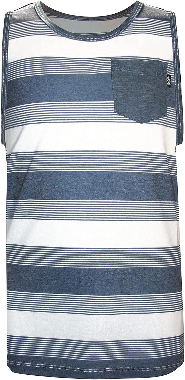 GROM Kids Boy's Classic Stripe Knit (Little Kids/Big Kids) Navy SM (6-7 Little Kids)
