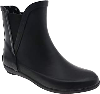 OUTWOODS Sammie Chelsea Botas de lluvia cortas impermeables para mujer