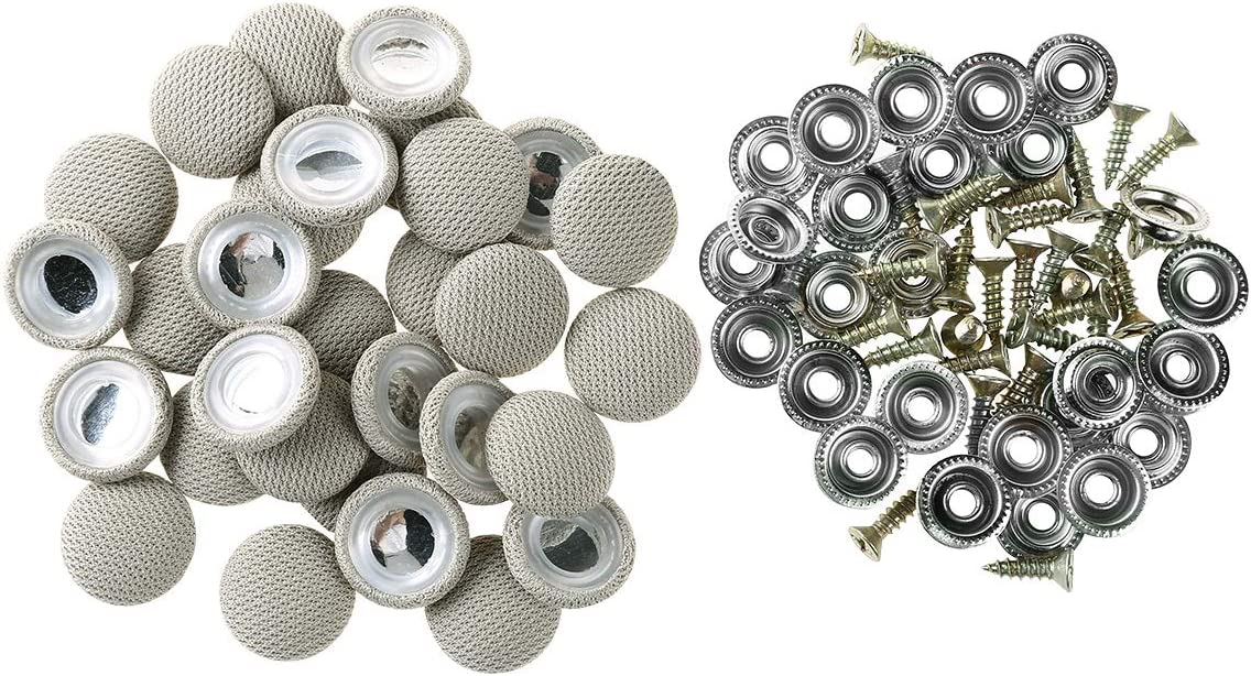 YiZYiF 30Pcs Car Roof Repair Auto Headliner New Orleans Mall Deluxe Button Rivets
