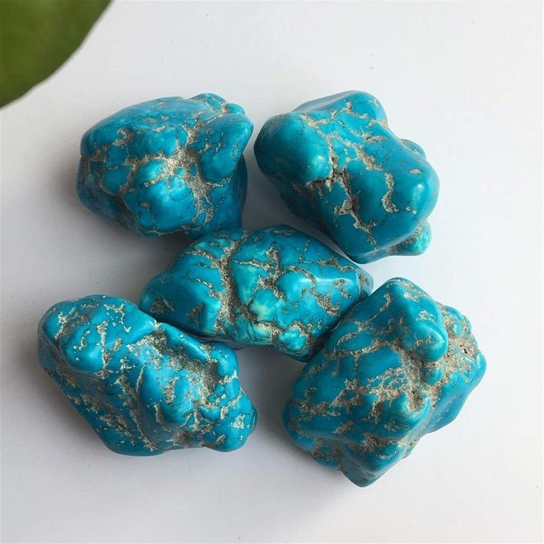 Size : 1pcs NBKLSD des /échantillons de min/éraux en Pierre Brute Turquoise Naturelle