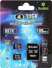 Amplim 2-Pack TF Card 32GB Micro SD SDHC Card Plus Adapter (MicroSD Memory Card V10 A1 Class 10 UHS-I) 2X 32 GB Ultra High...