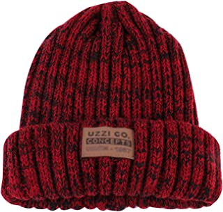 EDITHA Women Solid Color Knit Beret Hat Winter Warm Skull Cap Visor Beanie Hat