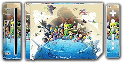 Legend of Zelda Link The Wind Waker Ganondorf Video Game Vinyl Decal Skin Sticker Cover for the Nintendo Wii System Console