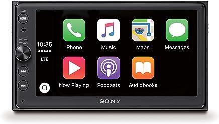 "Sony XAV-AX100 SintoMonitor 2DIN, Display da 6.4"" Touch Screen, AndroidAuto e Apple CarPlay, Bluetooth, 4 x 55W, USB (iPhone/iPod)"