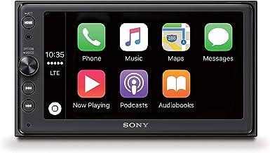 Sony XAVAX100.EUR - Receptor multimedia (Android Auto, Bluetooth, Apple CarPlay, sonido DSO, pantalla táctil de 6.4