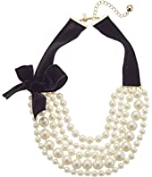 Kate Spade New York - Girls In Pearls Choker Necklace