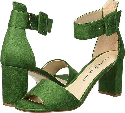 Green Fine Suede