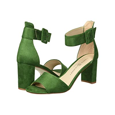 Chinese Laundry Rumor (Green Fine Suede) High Heels