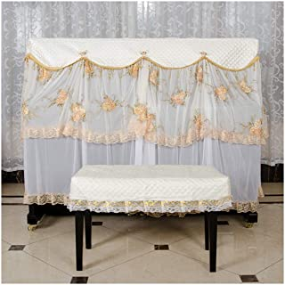 Comfortable Piano Cover Dust Cover Full Cover For Standard Upright Piano Support Custom with Stool Cover