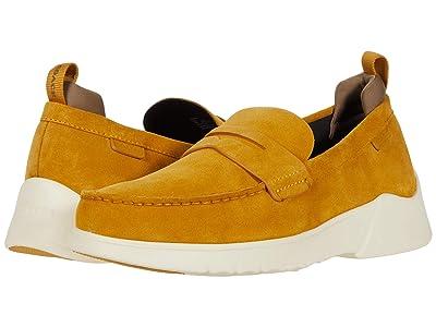 COACH Suede Hybrid Loafer (Flax) Men