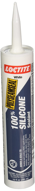 Soldering White Polyseamseal 100% Silicone 10 Tube Genuine Sealant oz