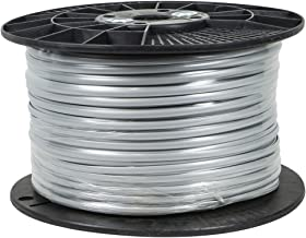 Monoprice 100952 4 Conductor 28AWG Stranded Bulk Phone Cable,Silver