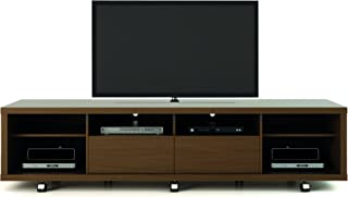 Manhattan Comfort Cabrini 2.2 Stand Collection Free Standing TV Stand with Storage, 85.4