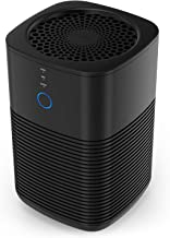 GBlife Air Purifiers for Home with 3-in-1 True HEPA Filter, Desktop Air Cleaner for Dorm Bedroom Office, Odor Eliminator for Smokers, Pets, Dust, Quiet Personal Air Purifier