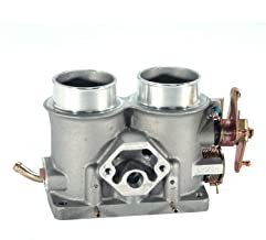 BBK Performance 3501 Twin 56mm Throttle Body - High Flow Power Plus Series For Ford F Series Truck And SUV 302, 351