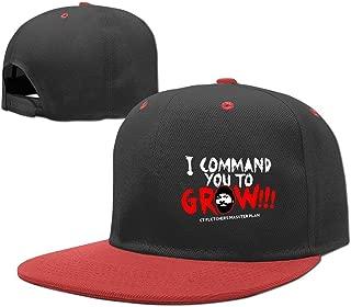 CT Fletcher I Command You to Grow Child Fashion Hip Hop Snapback Hat Baseball Caps