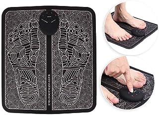 Masajeador de pies, masajeador USB recargable Ems Masaje de zona de reflejo de pies Masajeador de pies familiar, adecuado para masajear las plantas de los pies para aliviar la fatiga