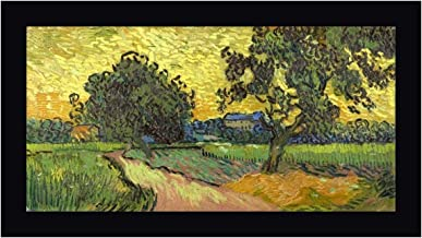 Landscape at Twilight by Vincent Van Gogh 19
