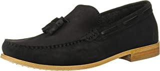 black men loafer