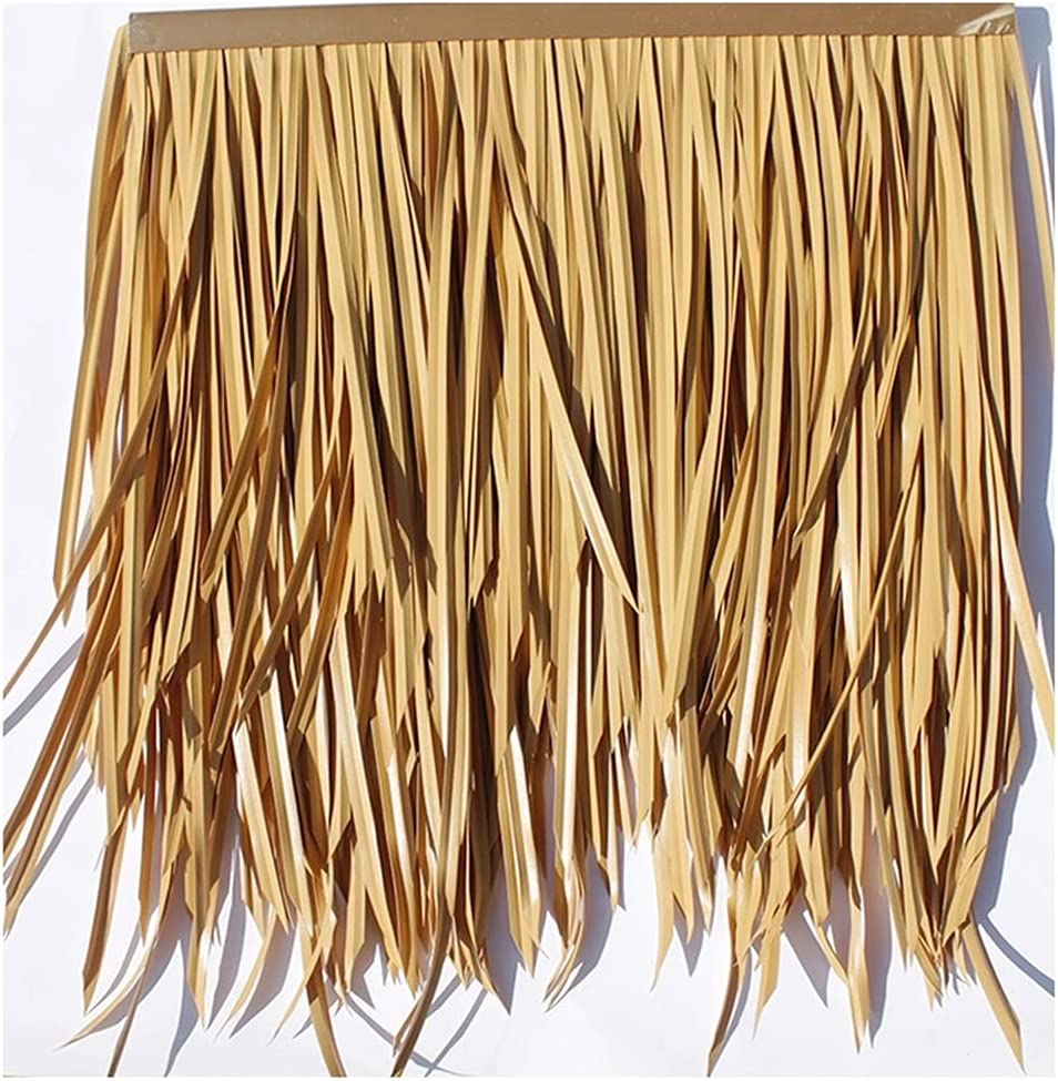 Artificial Plastic Thatch Roof Decoration Las Vegas Popular products Mall Farmh Palm Leaf