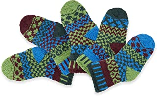 Solmate Socks, Mismatched Baby socks for girls or boys, Two pairs with a spare