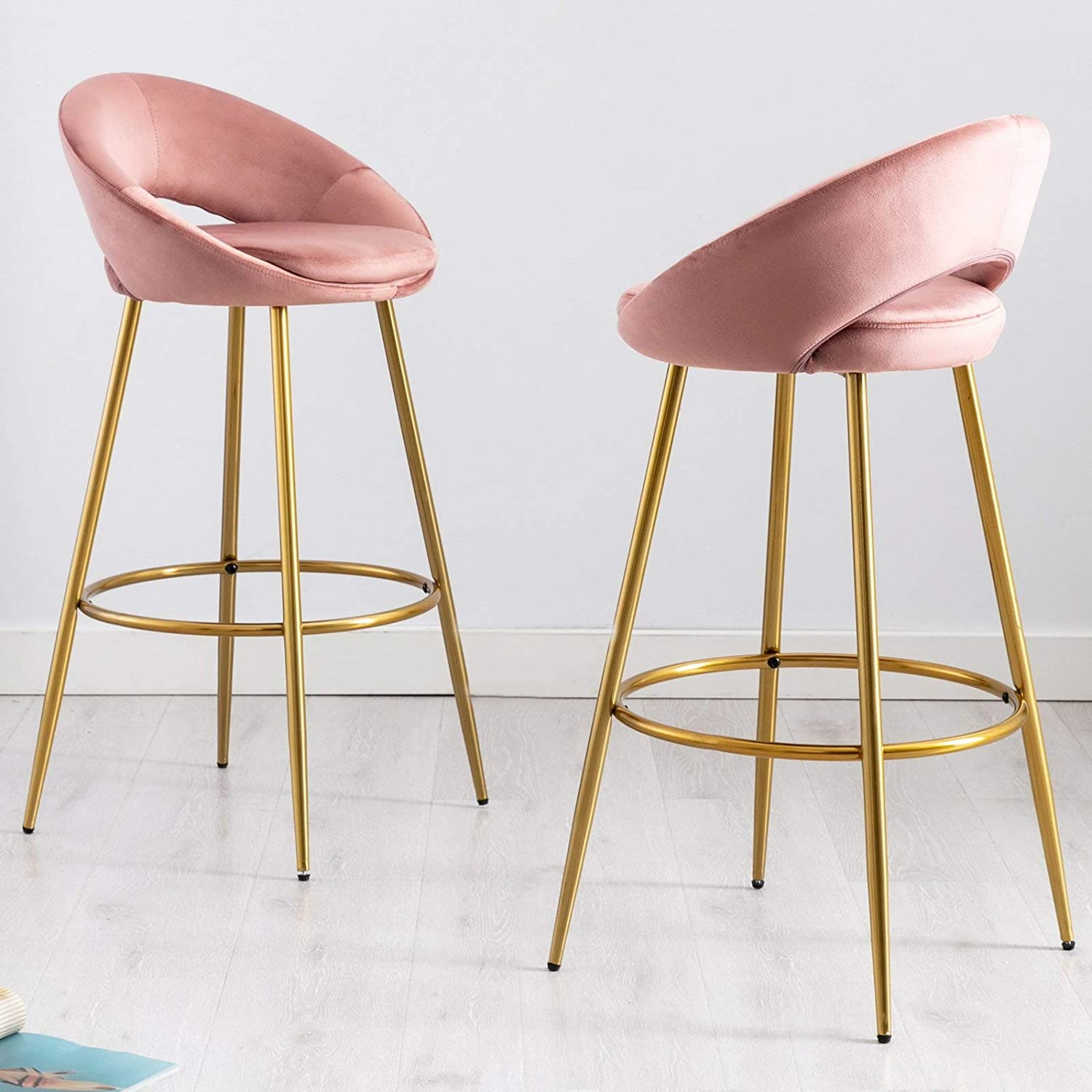Set of 2 Max 43% OFF Bar Stool with Open Popular shop is the lowest price challenge 30
