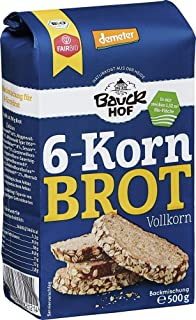 Bauckhof Bio Bauck Demeter 6-Kornbrot 6 x 500 gr