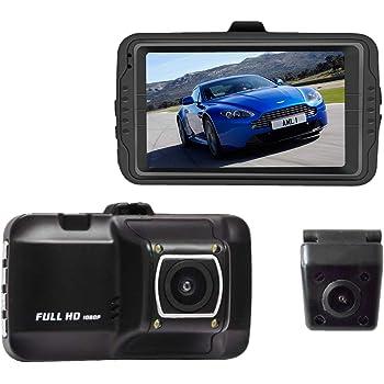 ドライブレコーダー 前後 日本製 カメラ 2カメラ 前後カメラ リアカメラ 1年保証 駐車監視 衝撃録画 常時録画 イベント録画 取付 一体型 後方 最新 簡単設置 ドラレコ SDカード 車外 煽り ビッグパワー BIGPOWER MDR-CAM2