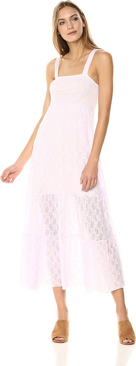 Only Hearts Womens Stretch Lace Tiered Dress Dress