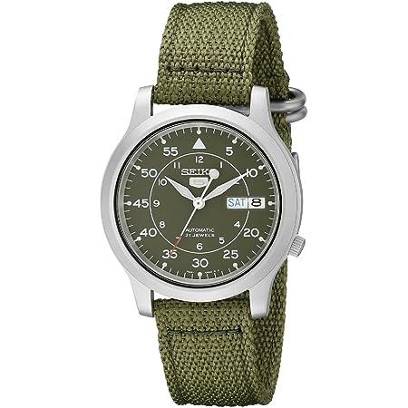 [セイコー] SEIKO 5 腕時計 自動巻き 海外モデル ミリタリー カーキ グリーン SNK805K2 メンズ [逆輸入品]