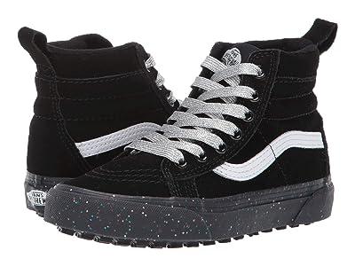 Vans Kids SK8-Hi MTE (Little Kid/Big Kid) ((MTE) Glitter Sidewall/Black) Girls Shoes