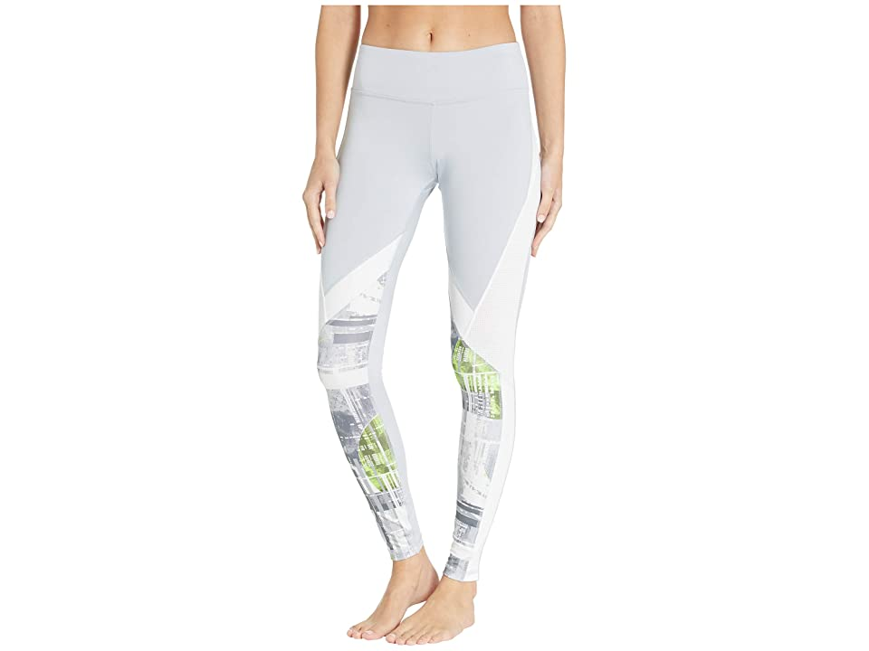 Reebok Work Out Ready Meet You There Panel Poly Tights (Grey) Women