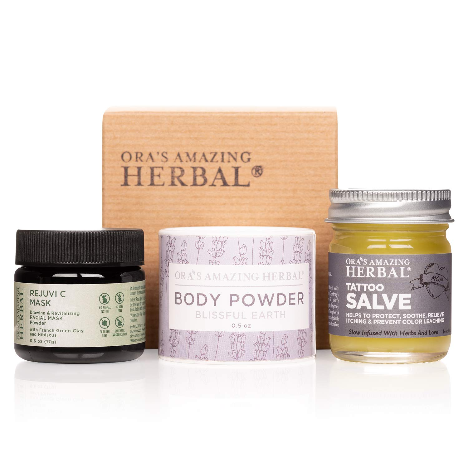 Discount mail order Max 65% OFF Natural Gift Set for People with F Salve Tattoo Travel Tattoos