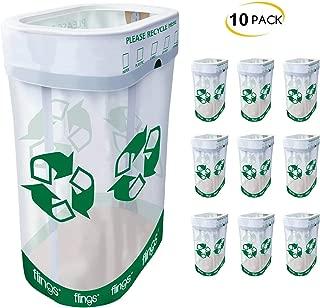 Trashco Flings Bins POP UP Recycle Bins - 10 Pack