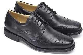 Anatomic & Co Manaus Mens cuero negro encaje hasta zapatos formales Brogue tamaño 6-15