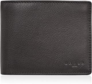 Cross Leather Wallet for Men with Card Holder compartments (Brown)